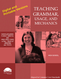 Teaching Grammar and Mechanics (High School)