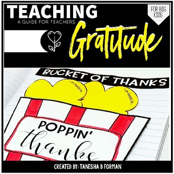 Teaching Gratitude: Resources for Teachers
