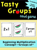"Teaching ""Groups of"" Game - Beginning Multiplication"