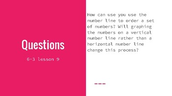 Teaching Guide for Engage Ny / Eureka Math Grade 6 Module 3 Lesson 9