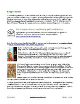 Teaching Guide for The Genie's Gift, middle grade historical fantasy