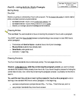 Essays & How to Write Them: Informational Essays ~ It Begins Here...
