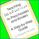 Teaching Handwriting Booklet