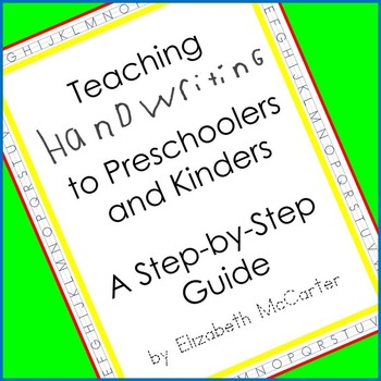 Teaching Handwriting Booklet
