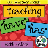 "Teaching ""Have"" and ""Has"" with Colors"