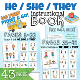 Bundle HE, SHE, THEY Pronouns (Book + Games)