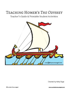 Teaching Homer's The Odyssey- Teacher Guide and Student Printables