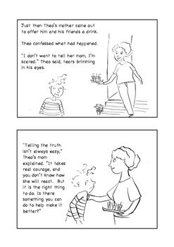 Teaching Honesty - The Broken Flower Pot