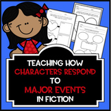 Teaching How Characters Respond to Major Events