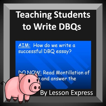 How to Answer DBQs and Blank DBQ Outline (Document Based Questions)