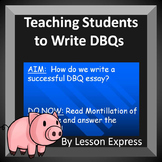 How to Answer DBQs and Blank DBQ Outline (Document Based Q