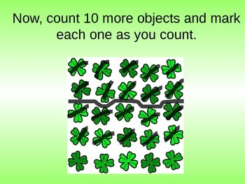 Teaching How to Count Objects Scattered Around
