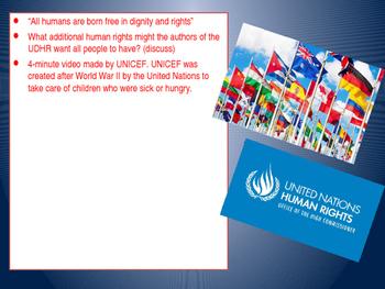 Teaching Human Rights: UDHR Lesson 2