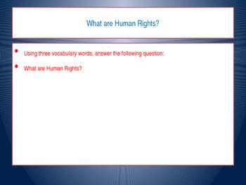 Teaching Human Rights: UDHR Lesson 5