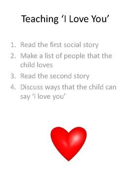 Teaching 'I love you' Lesson