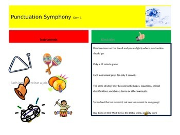 Teaching Ideas and Activities