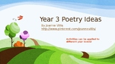 Teaching Ideas for Poetry