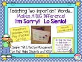 Teach Students to Say I'm Sorry A Behavior Helper Role Play Program & Materials