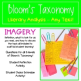 Teaching Imagery with Bloom's Taxonomy - Literary Analysis