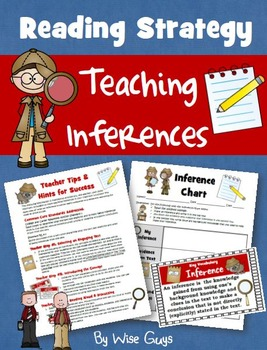 Inference: I Can Statements, Lesson Plans and More!
