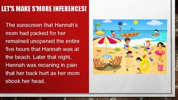 Teaching Inferences