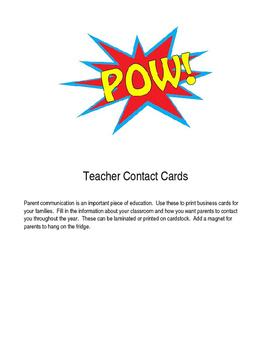 Teaching Information Magnet