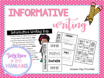 Teaching Informative Writing