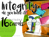 Teaching Integrity: Scenario Cards and Poster
