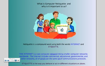Teaching Internet and Computer Lab Rules with Netiquette for the SMARTboard