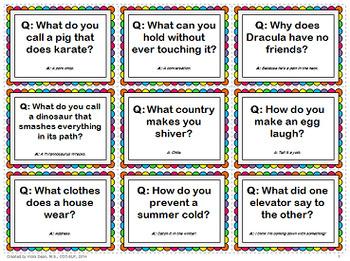 teaching jokes humor using riddle jokes speech asd esl tpt. Black Bedroom Furniture Sets. Home Design Ideas