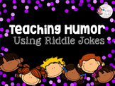 Teaching Jokes & Humor Using Riddle Jokes - Speech, ASD, ESL