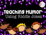 Teaching Jokes & Humor Using Riddle Jokes - Speech, ASD, ESL