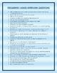 Teaching Interview Checklist