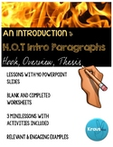Teaching Introduction Paragraphs: H.O.T. Intros PowerPoint