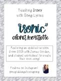 "Teaching Irony with Song Lyrics! ""Ironic"" Alanis Morissette"