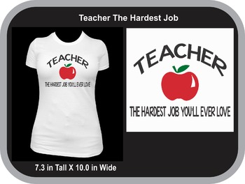 Teaching Is The Hardest Job You'll Ever Love