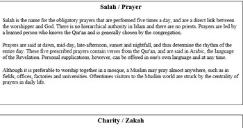 Teaching Islam with Common Core and Essential Standards' guidelines