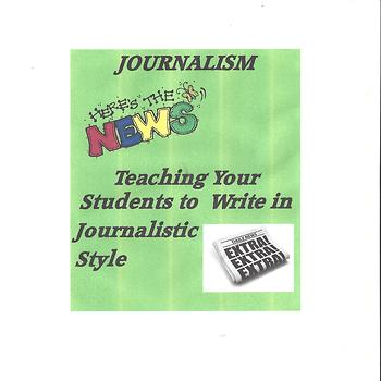 Teaching Journalistic Writing With Fun Projects