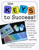 Teaching Keyboarding Skills Bulletin Board Poster set