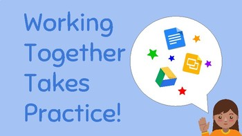 Google 1:1 Basics For Kids- Teaching Kids To Collaborate In Google Docs & Slides