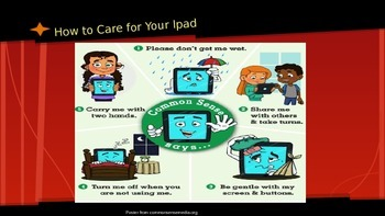 Teaching Kids to Care for Their IPad