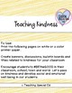 Teaching Kindness - Poster, Banners, Titles, and Sticky Notes