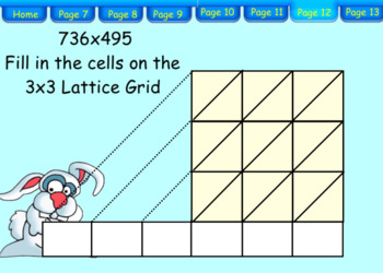 Teaching Lattice Multiplication