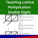 Teaching Lattice Multiplication Double Digits