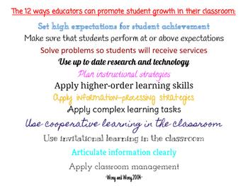Teaching, Learning