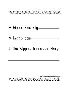 Teaching Letter H.....daily individual worksheets and activities