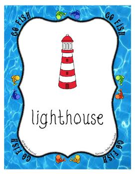 Teaching Letter L Beginning Sound Go Fish Card Game ~ Alphabet Supplement