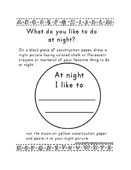 Teaching Letter N.....daily individual worksheets and activities