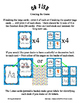 Teaching Letter T Beginning Sound Go Fish Card Game ~ Alphabet Supplement