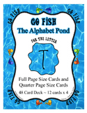 Teaching Letter T Beginning Sound Go Fish Card Game ~ Alph